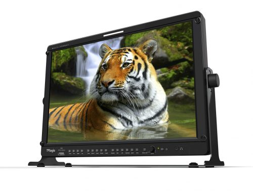 "TV LOGIC multi-purpose 17"" Full HD Monitor"