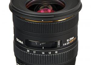 Sigma 10-20mm f/4-5.6 EX DC