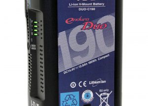 IDX System Technology DUO-C190 185Wh Li-Ion V-Mount Battery