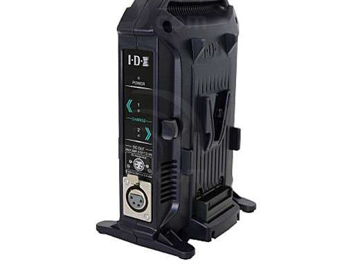 Battery Charger  IDX 2ch Sequential Quick Charger VL-2X