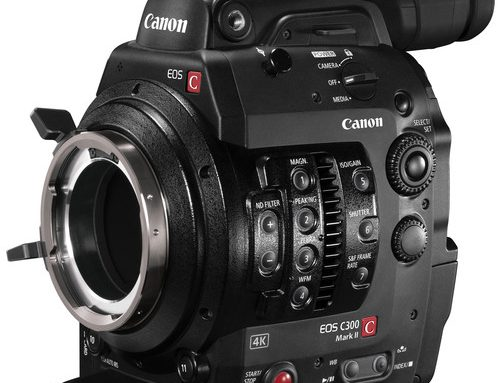 Canon EOS C300 MARK II Camcorder with PL Mount