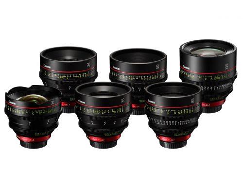 Canon CN-E Prime 6 lens set