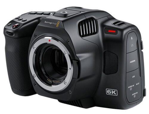 Blackmagic Pocket Cinema Camera 6K Pro EF
